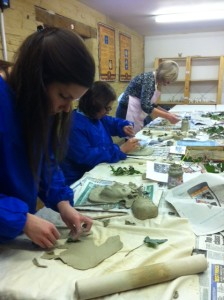 Green Man workshop