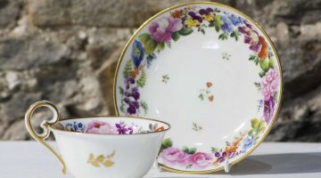 Nantgarw Cup and Saucer