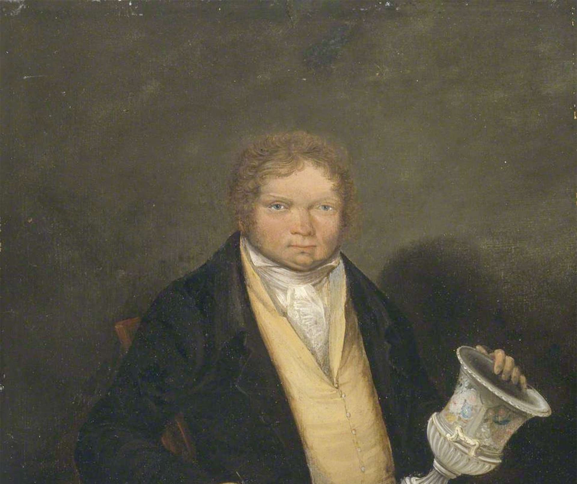 Self Portrait of Thomas Pardoe