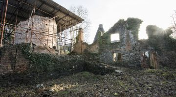 Ruins of Nantgarw China Works