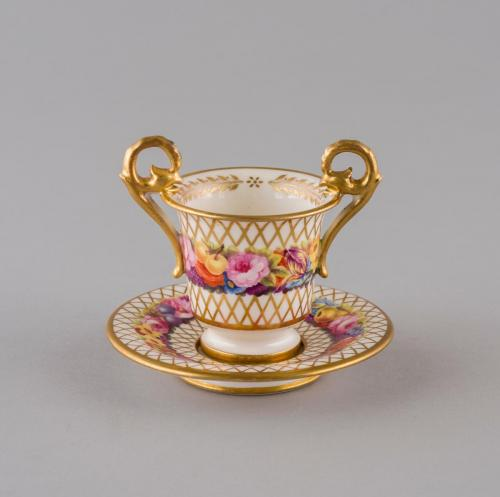 cabinet cup & saucer, 1818-1822